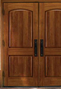 Spanish Cedar entry doors