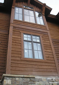 Western Red Cedar siding