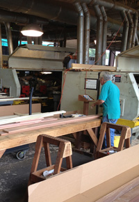 J Gibson McIlvain lumberyard
