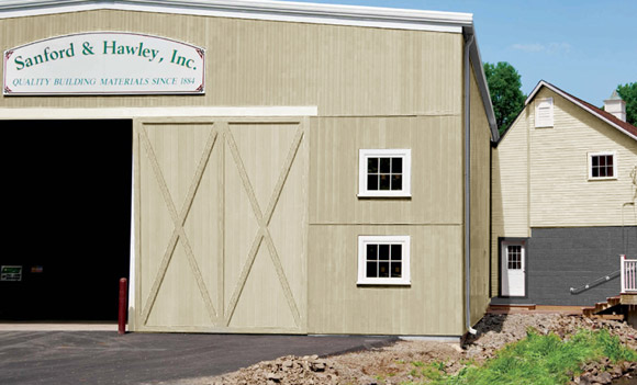 nucedar vertical siding