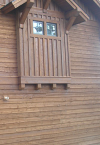 Western Red Cedar siding