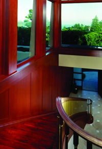 Genuine Mahogany staircase