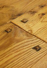 Rehmeyer Hand Scraped White Oak Wide Plank Flooring
