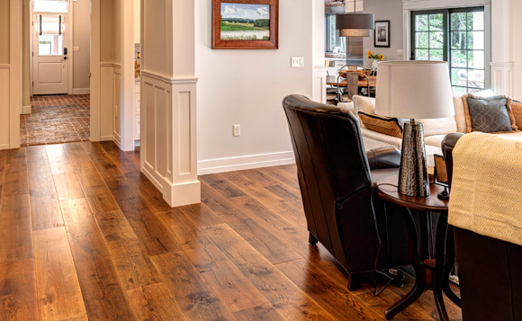 Pennsylvania Street of Dreams home with Rehmeyer Flooring