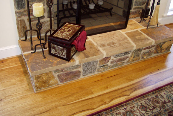 Rehmeyer Pioneer Hickory hardwood flooring